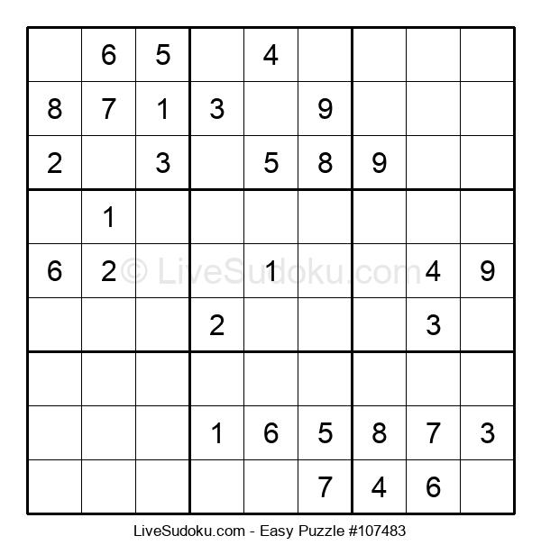 Beginners Puzzle #107483