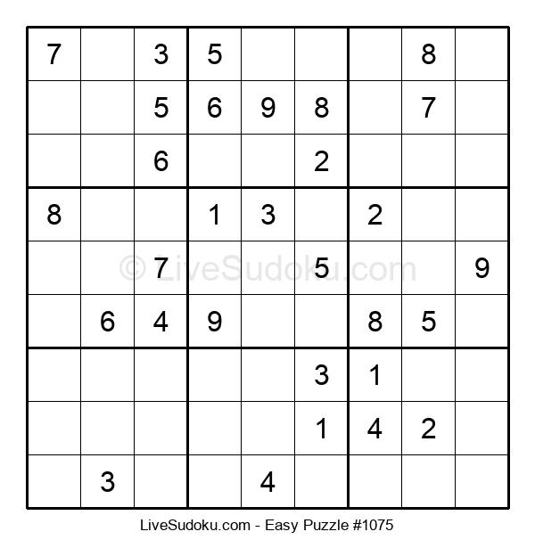 Beginners Puzzle #1075