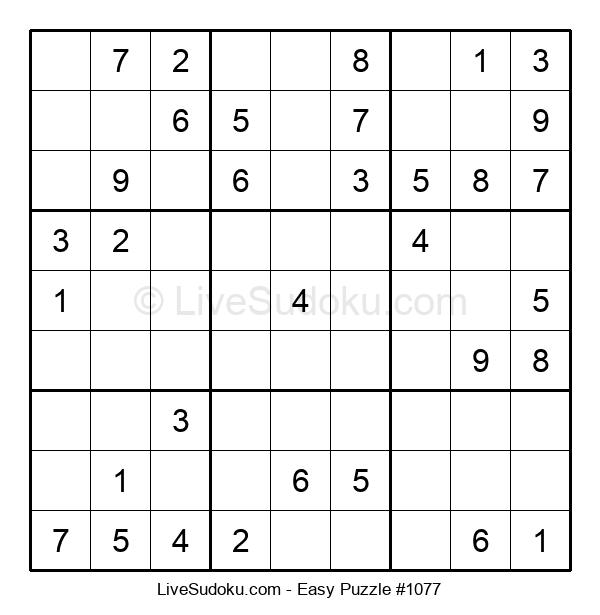 Beginners Puzzle #1077