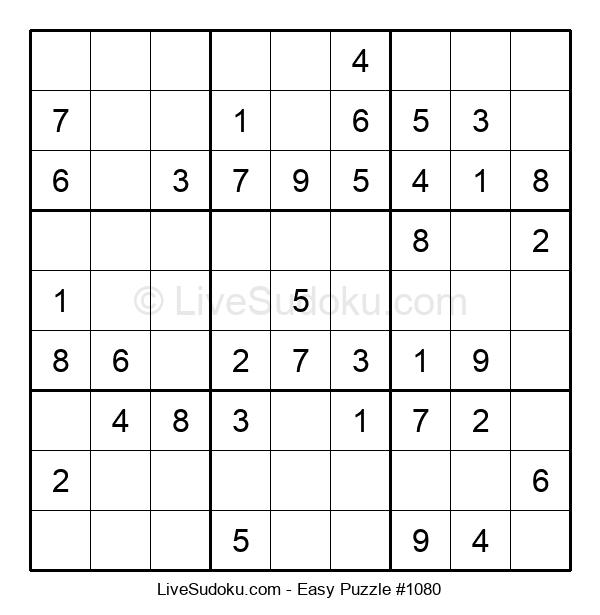 Beginners Puzzle #1080