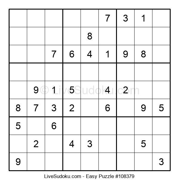 Beginners Puzzle #108379
