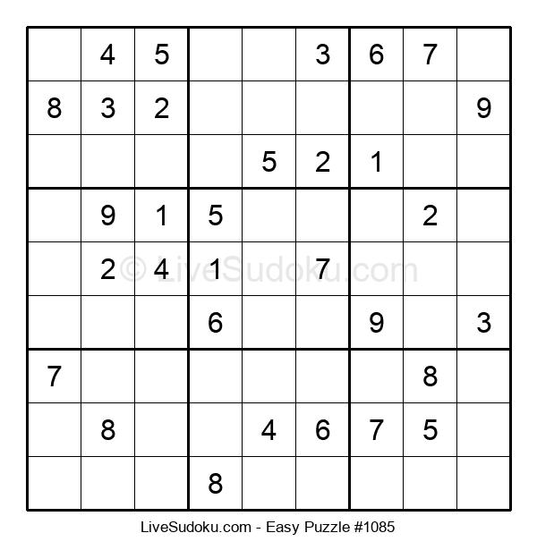 Beginners Puzzle #1085