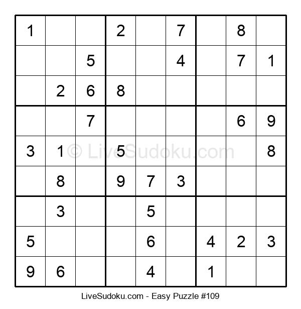 Beginners Puzzle #109
