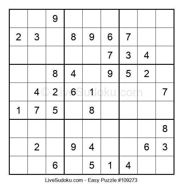 Beginners Puzzle #109273