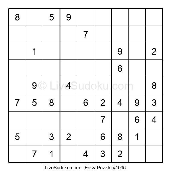 Beginners Puzzle #1096