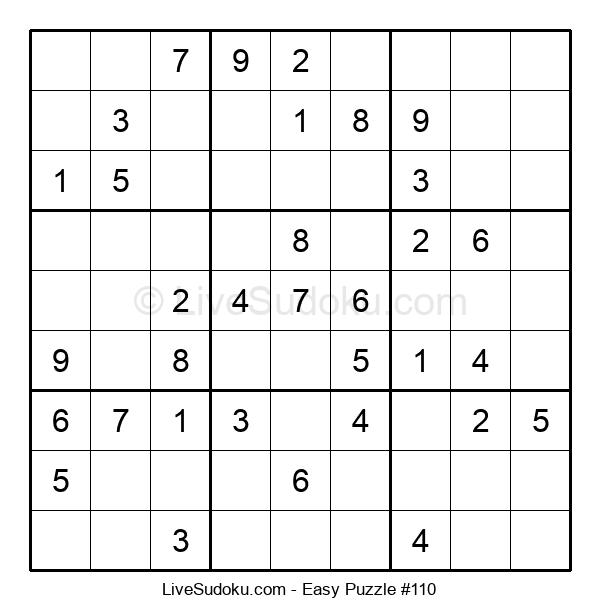 Beginners Puzzle #110