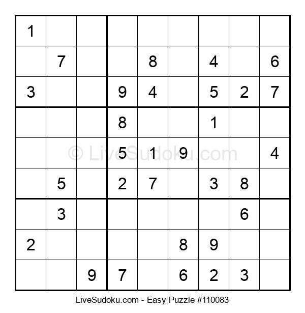 Beginners Puzzle #110083