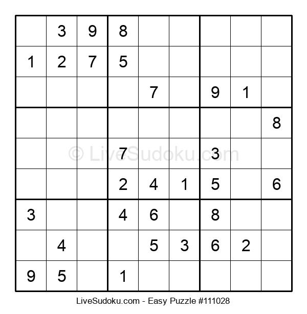 Beginners Puzzle #111028