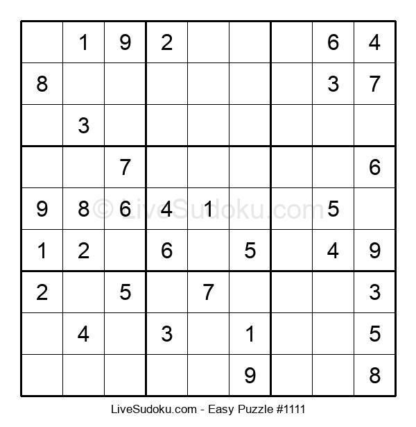 Beginners Puzzle #1111