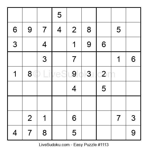 Beginners Puzzle #1113