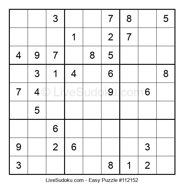 Beginners Puzzle #112152
