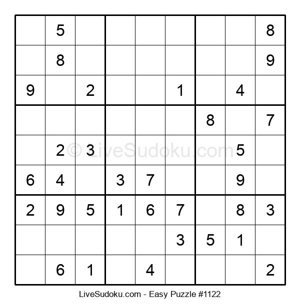 Beginners Puzzle #1122