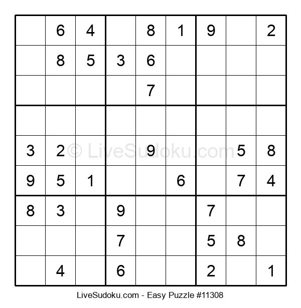 Beginners Puzzle #11308
