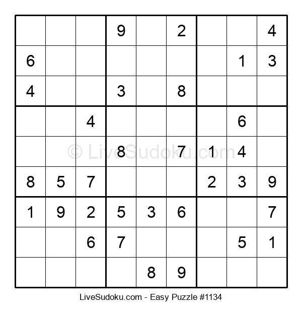 Beginners Puzzle #1134