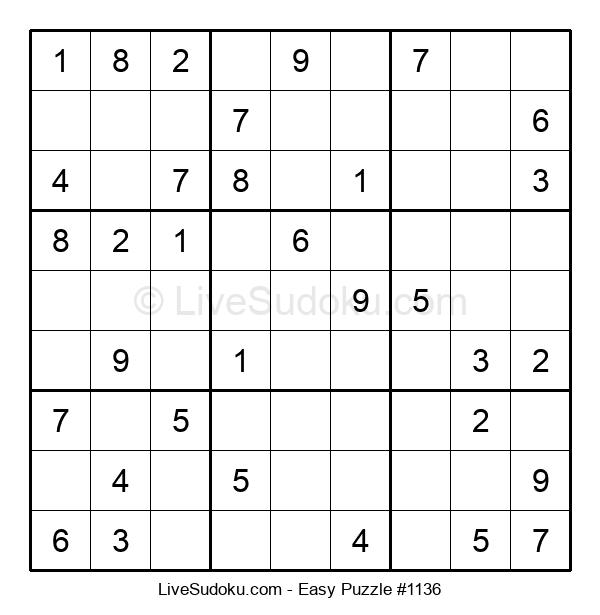 Beginners Puzzle #1136