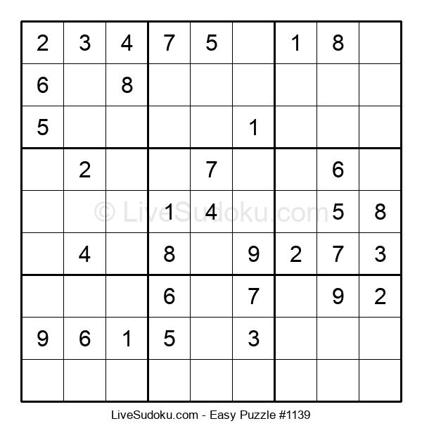 Beginners Puzzle #1139
