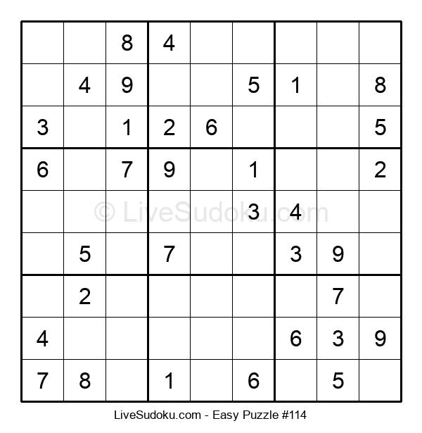 Beginners Puzzle #114