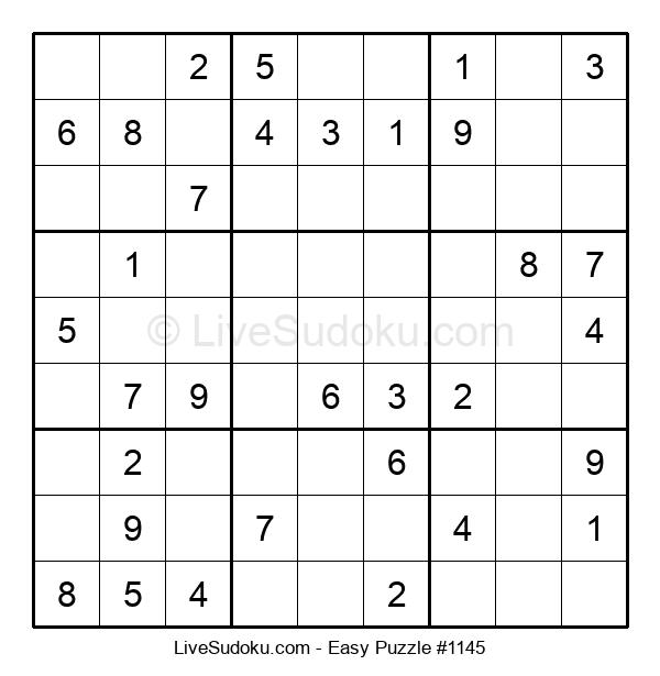 Beginners Puzzle #1145
