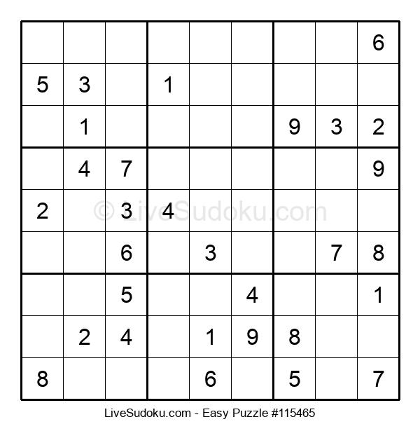 Beginners Puzzle #115465