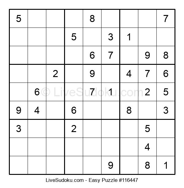 Beginners Puzzle #116447