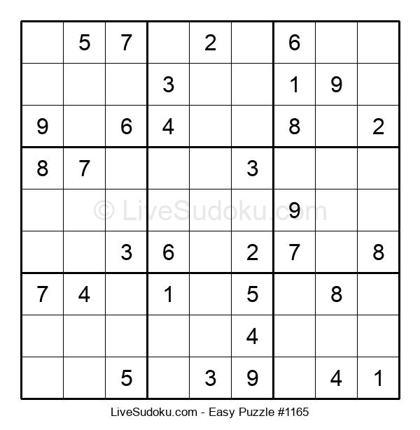 Beginners Puzzle #1165