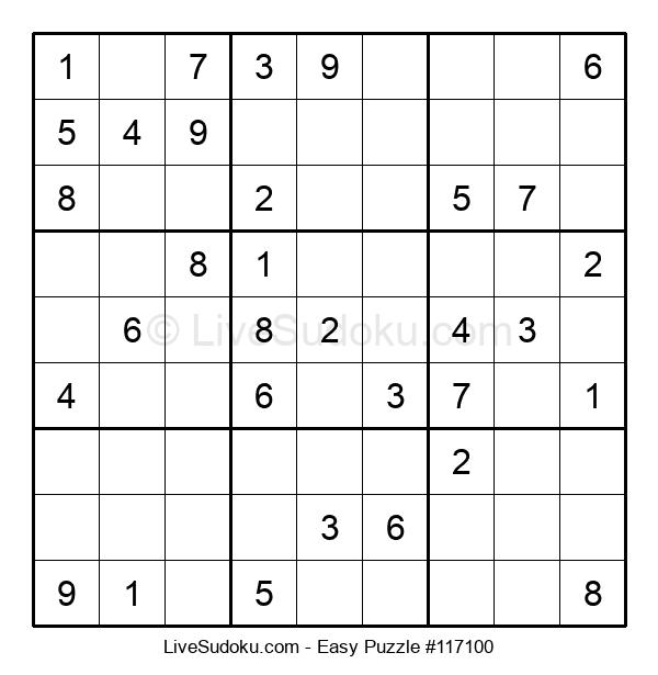 Beginners Puzzle #117100