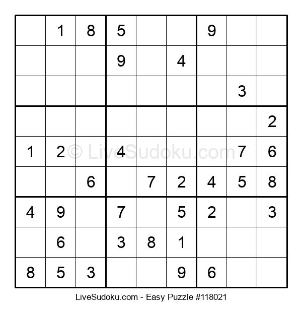 Beginners Puzzle #118021