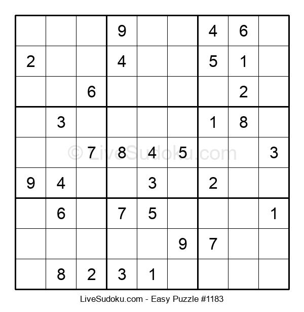Beginners Puzzle #1183