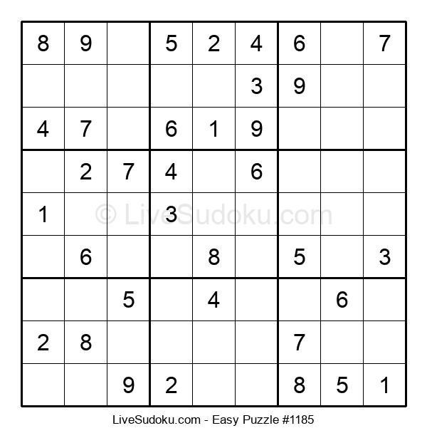 Beginners Puzzle #1185
