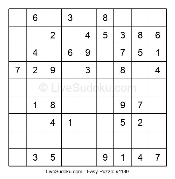 Beginners Puzzle #1189