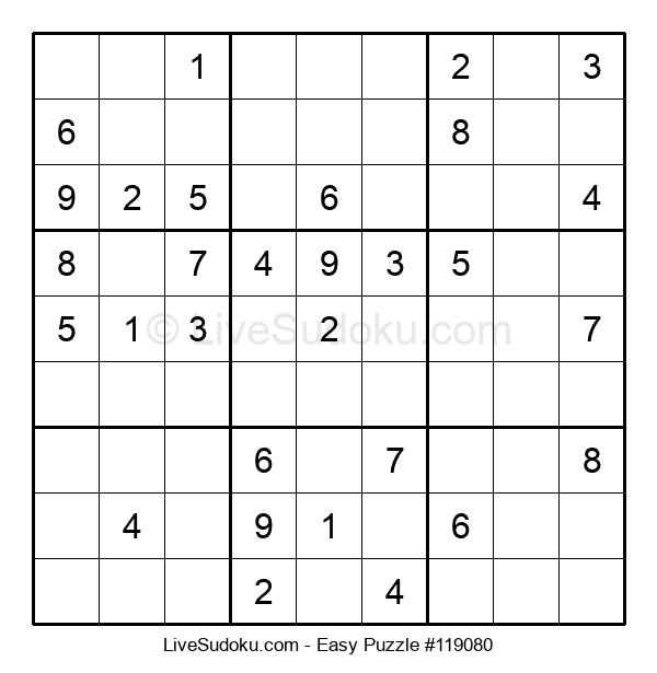Beginners Puzzle #119080