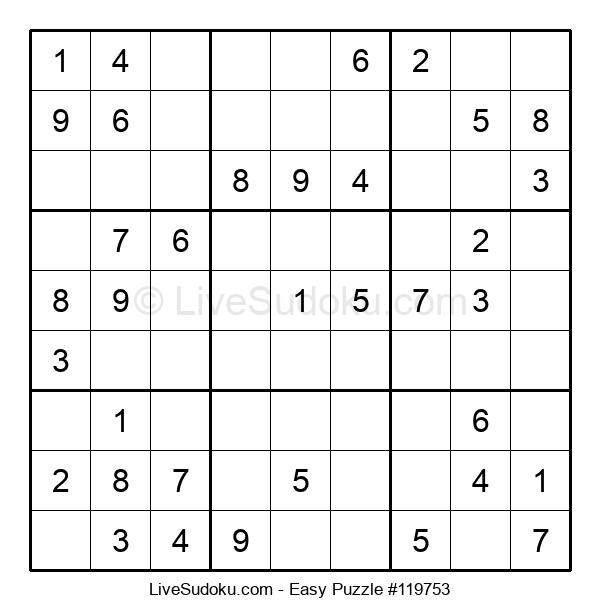 Beginners Puzzle #119753