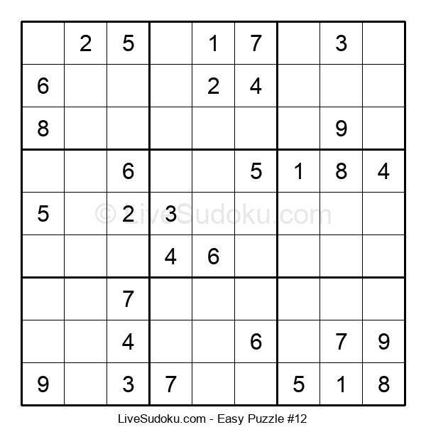 Beginners Puzzle #12