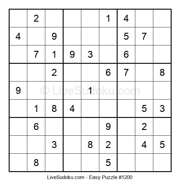 Beginners Puzzle #1200