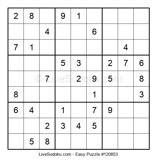 Beginners Puzzle #120853
