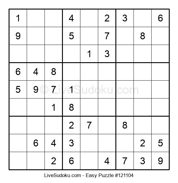 Beginners Puzzle #121104
