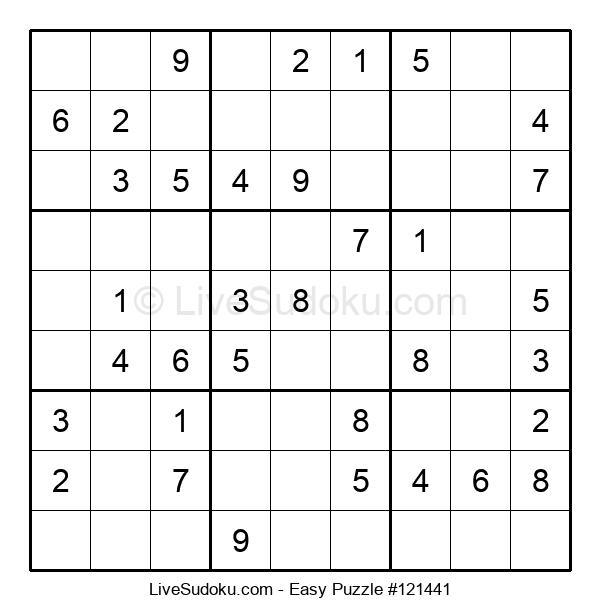 Beginners Puzzle #121441