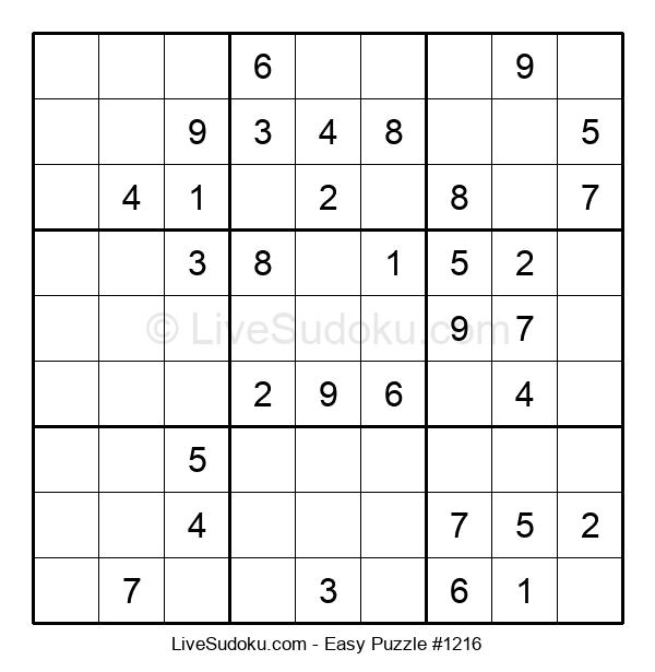 Beginners Puzzle #1216