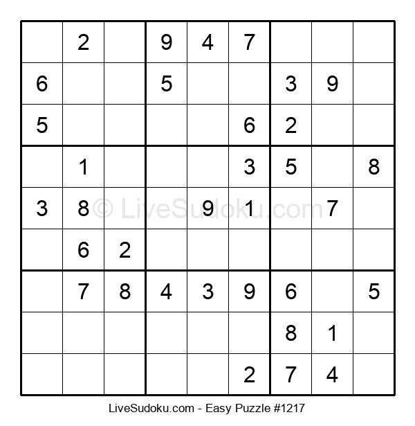 Beginners Puzzle #1217