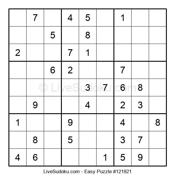 Beginners Puzzle #121921