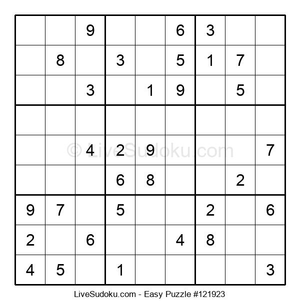 Beginners Puzzle #121923