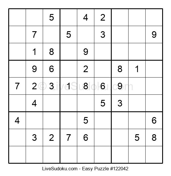 Beginners Puzzle #122042