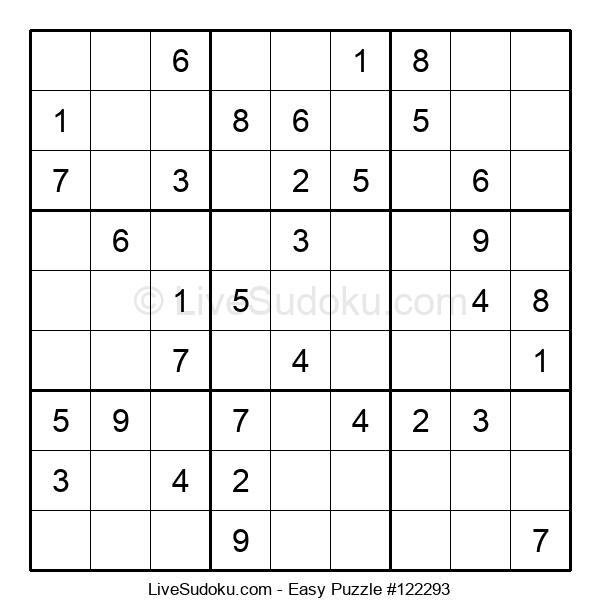 Beginners Puzzle #122293