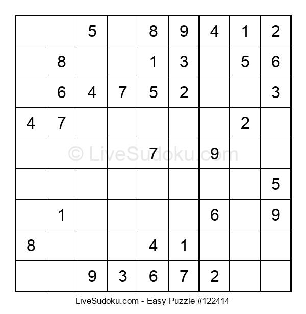 Beginners Puzzle #122414