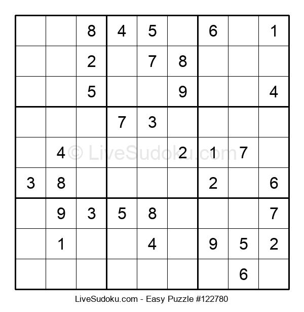 Beginners Puzzle #122780