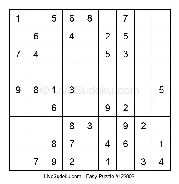 Beginners Puzzle #122802