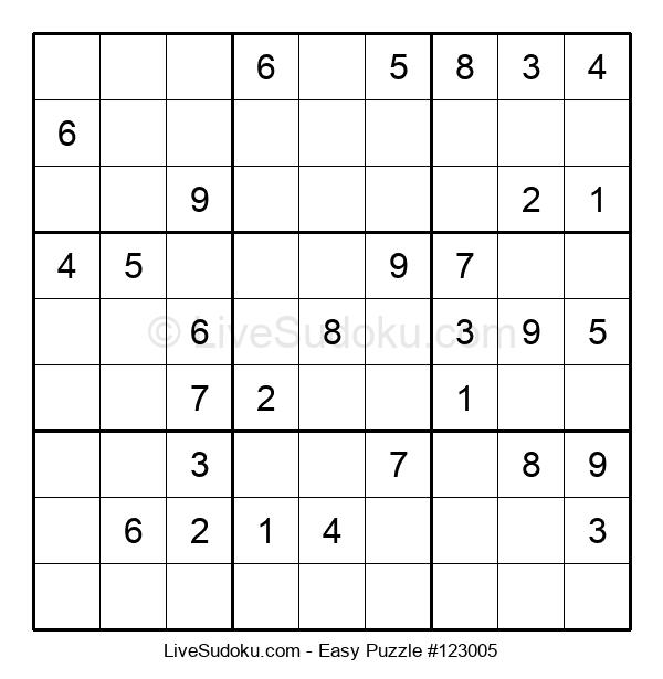 Beginners Puzzle #123005