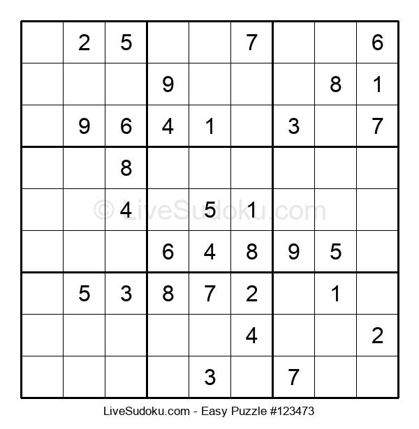 Beginners Puzzle #123473