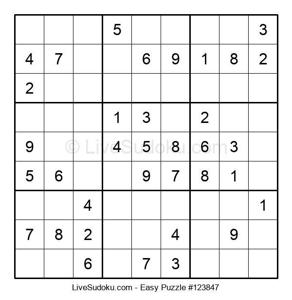 Beginners Puzzle #123847