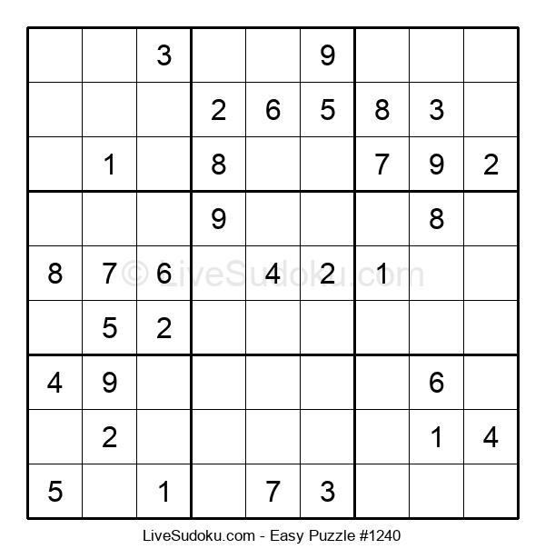 Beginners Puzzle #1240
